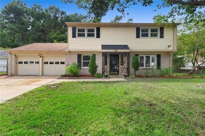 Norfolk Single Family Home New Listing: 3399 Gamage Dr