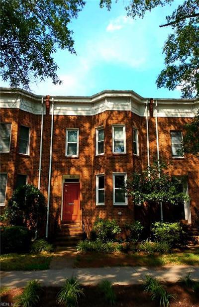 Norfolk Single Family Home New Listing: 420 W Princess Anne Rd
