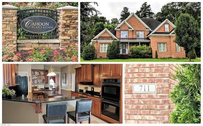 Chesapeake Single Family Home New Listing: 711 Forest Glade Dr