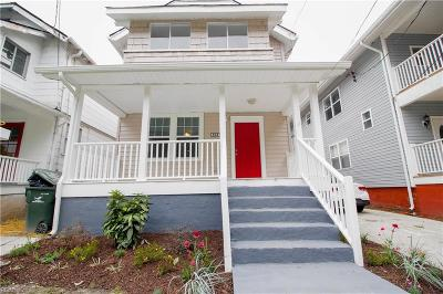 Norfolk Single Family Home New Listing: 507 W 38th St