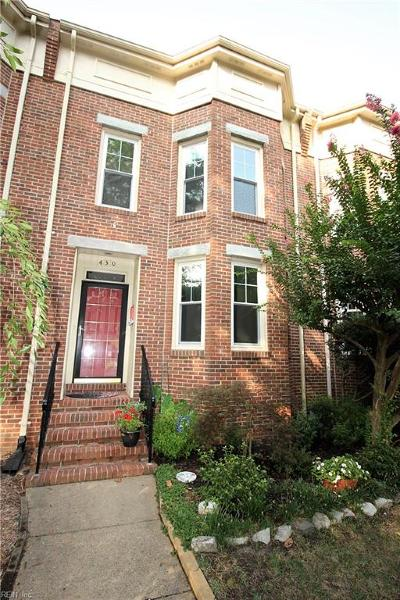 Norfolk Single Family Home New Listing: 430 Westover Ave