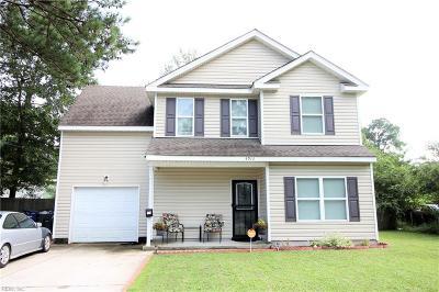 Norfolk Single Family Home New Listing: 4913 Krick St