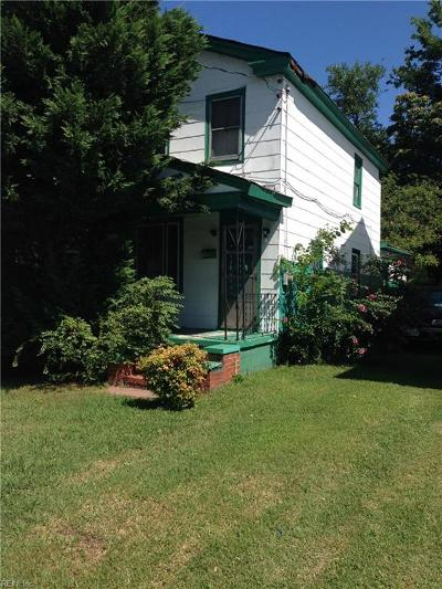 Portsmouth Single Family Home New Listing: 1228 Highland Ave