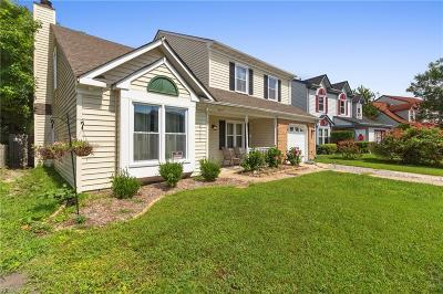 Virginia Beach Single Family Home New Listing: 3117 Crestwood Ln