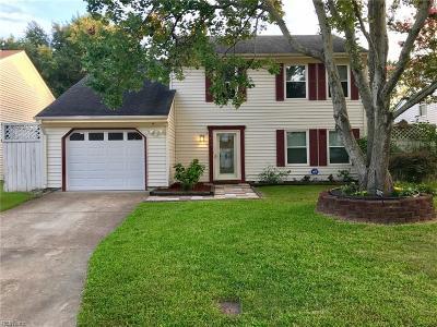 Virginia Beach Single Family Home New Listing: 3877 Sherman Oaks Ave