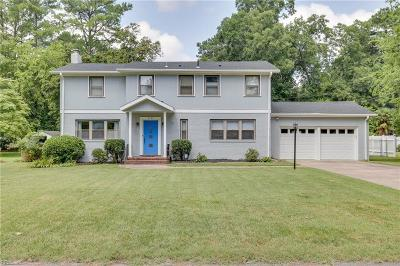Portsmouth Single Family Home New Listing: 4124 Duke Dr