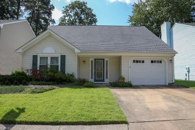 Virginia Beach Single Family Home For Sale: 1185 Eagle Way