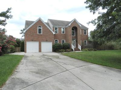 Virginia Beach Single Family Home New Listing: 1804 Sessile Oak Ct