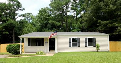 Chesapeake Single Family Home New Listing: 3424 Brandywine Dr