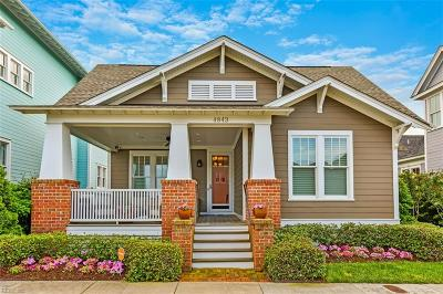 Norfolk Single Family Home Under Contract: 4843 Coventry Ln