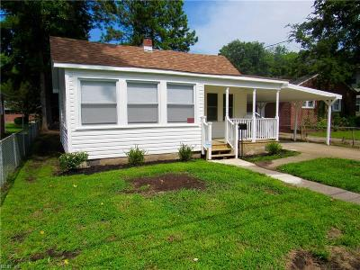 Hampton Single Family Home New Listing: 372 Wakefield Ave