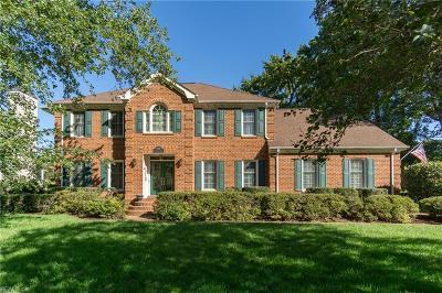 Virginia Beach Single Family Home New Listing: 1760 Templeton Ln