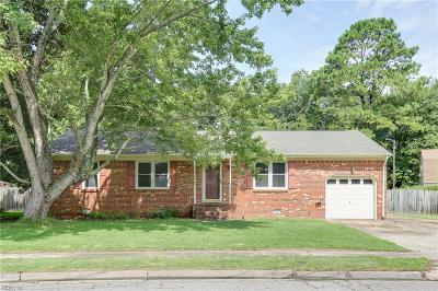 Chesapeake Single Family Home New Listing: 1112 Sharon Dr