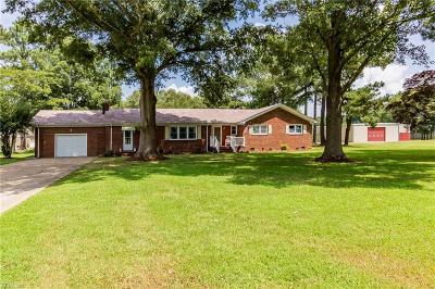 Chesapeake Single Family Home New Listing: 2300 Carolina Rd