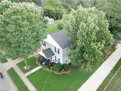 Norfolk Single Family Home New Listing: 737 Marvin Ave