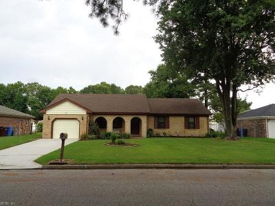 Chesapeake Single Family Home New Listing: 1425 Cole Dr