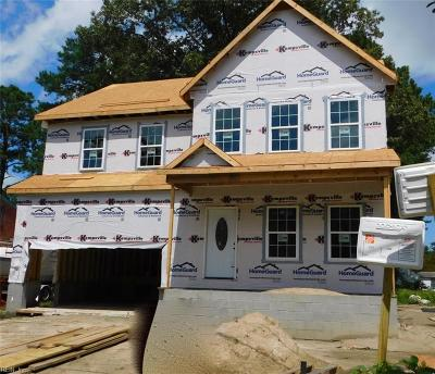 Norfolk Single Family Home Under Contract: 6520 Cabot Ave