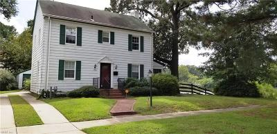 Portsmouth Single Family Home New Listing: 1721 Ann St