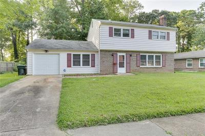 Hampton Single Family Home New Listing: 1043 Clipper Dr