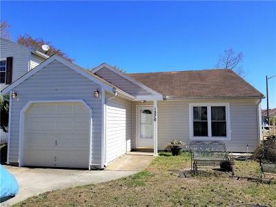 Virginia Beach Single Family Home New Listing: 1576 Bridle Creek Blvd