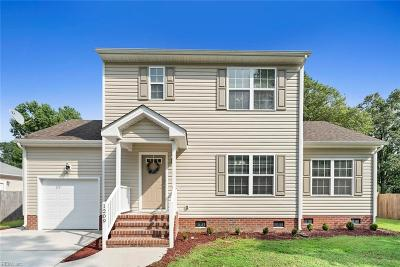 Chesapeake Single Family Home New Listing: 1209 Shell Rd