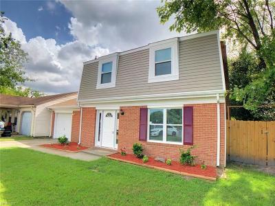 Virginia Beach Single Family Home New Listing: 3317 Ashaway Rd