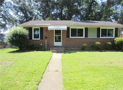 Chesapeake Single Family Home New Listing: 1204 Algona Rd