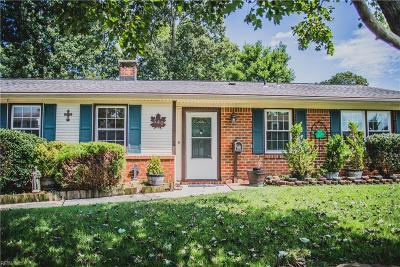 Virginia Beach Single Family Home New Listing: 540 Pine Hill Rd