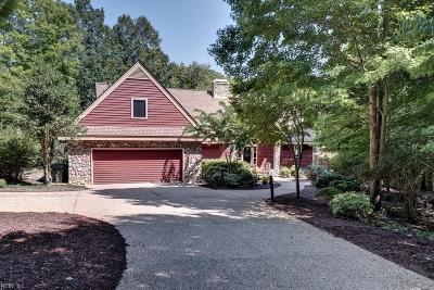 Williamsburg Single Family Home For Sale: 204 Woodbine Dr