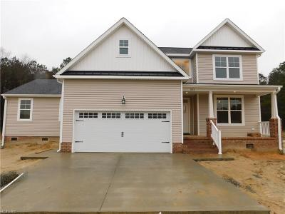 Suffolk Single Family Home For Sale: 551 Dutch Rd