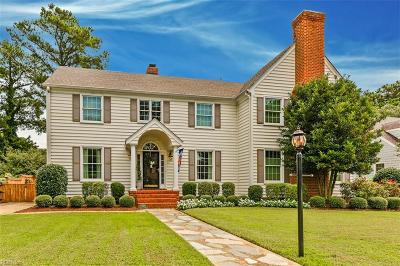 Norfolk Single Family Home Under Contract: 5404 Studeley Ave