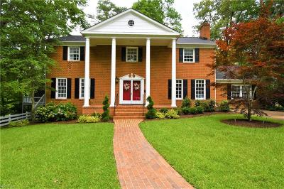Newport News Single Family Home For Sale: 12 Poindexter Pl