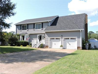 Hampton Single Family Home For Sale: 309 Lakeland Dr
