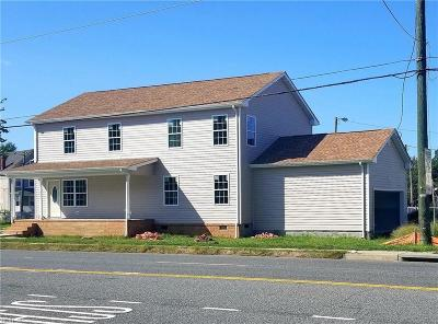 Norfolk Single Family Home For Sale: 1500 Indian River Rd