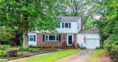 Norfolk Single Family Home For Sale: 6023 S. River Rd