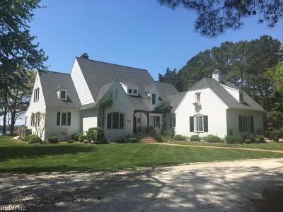 Accomack County, Northampton County Single Family Home For Sale: 8448 Creek St