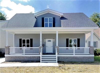 Norfolk Single Family Home For Sale: 2508 Tidewater Dr