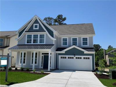 Newport News Single Family Home For Sale: Mm Neptune At Huntington