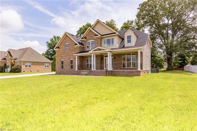 Suffolk Single Family Home For Sale: 4404 Cullen Ln