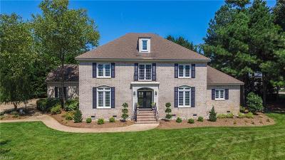 Virginia Beach Single Family Home New Listing: 1800 Keelingwood Ln