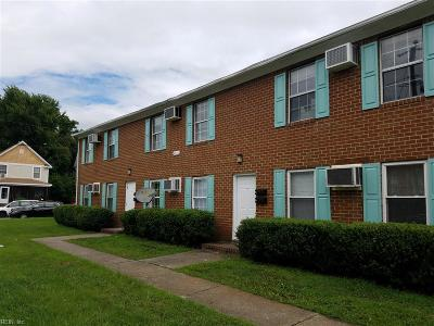 Norfolk Single Family Home For Sale: 2800 Colonial Ave
