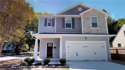 Norfolk Single Family Home For Sale: 8576 Wayland St