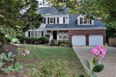 Williamsburg Single Family Home Under Contract: 2732 Persimmon Pl