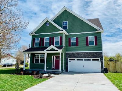 Norfolk Single Family Home Under Contract: 8128 Van Patten Rd