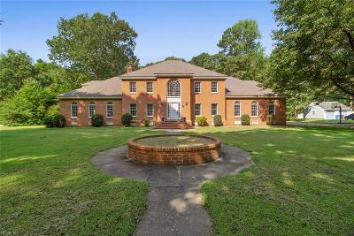 Chesapeake Single Family Home For Sale: 433 Mill Stone Rd