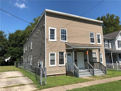 Norfolk Multi Family Home For Sale: 854 Johnson Ave