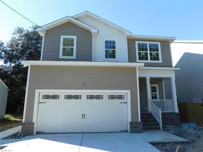 Norfolk Single Family Home For Sale: 1525 Kingston Ave