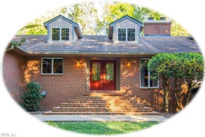 Williamsburg Single Family Home For Sale: 115 Holcomb Dr