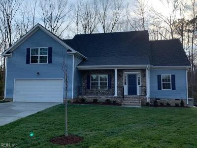 Williamsburg Single Family Home Under Contract: 710 Marks Pond Way