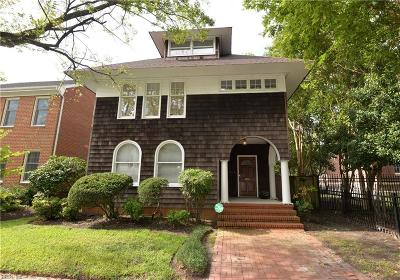Norfolk Single Family Home New Listing: 343 Shirley Ave